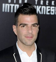Zachary Quinto suffered nasty burn while  filming Star Trek Into Darkness