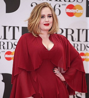 Adele shrieks as she spots a bat at her concert