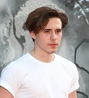 Brooklyn Beckham unfazed by life in the limelight
