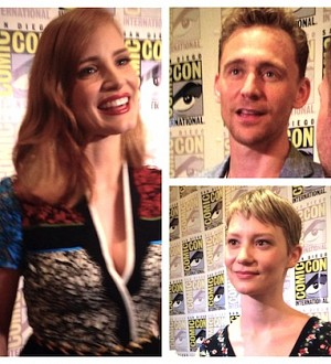 Comic-Con 2015: 'Crimson Peak' Star Tom Hiddleston Tells Ghost Stories!