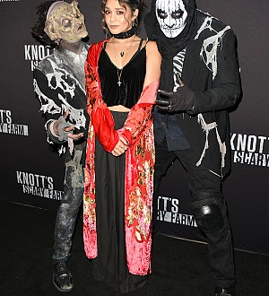 Knott's Scary Farm Rolls Out the Black Carpet for Celeb Guests!