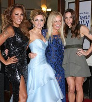 Spice Girls emotional at musical premiere