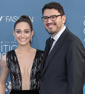 Emmy Rossum marries in New York