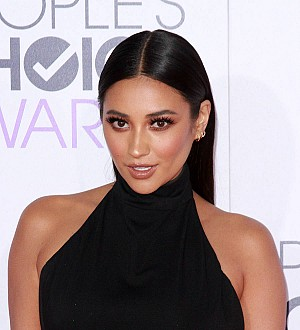 Shay Mitchell burned her hair off in clothing iron mishap