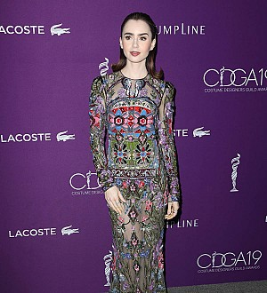 Lily Collins blasts fashion bosses for casting 'extremely' thin models