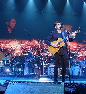 John Mayer Doesn't Miss a Beat During His Performance at L.A.'s Forum!