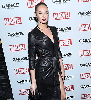 Candice Swanepoel shares first picture of son Anaca