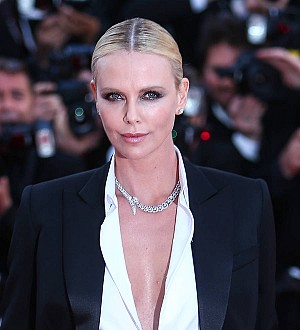 Charlize Theron's son splits fans with Elsa outfit