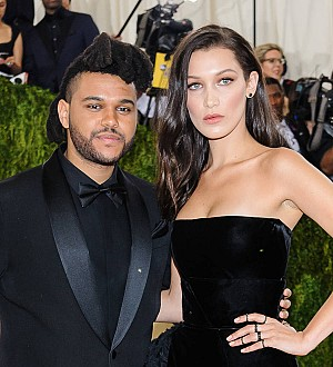 Bella Hadid thinks about The Weeknd while modelling