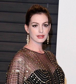 Anne Hathaway is a first-time mum