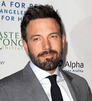 Ben Affleck honored at peace ceremony