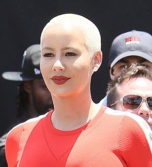 Amber Rose: 'I didn't diss Kim Kardashian, we're good!'