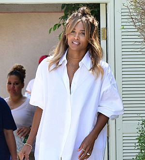 Ciara makes red carpet return at New York Fashion Week