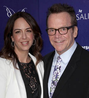 Tom Arnold to be a dad again