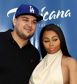 Rob Kardashian and Blac Chyna's Snapchat reunion