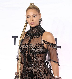 Beyonce performs at her company Christmas party