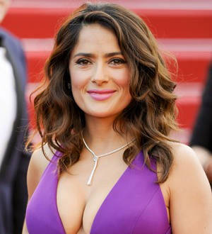 Salma Hayek collects Decade of Hotness prize at Guys Choice Awards