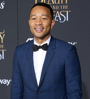 John Legend moves fans to tears as he sings Beauty and the Beast live