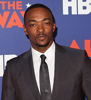 Anthony Mackie was teased about All the Way weight gain