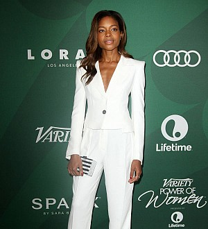 Naomie Harris had to slum it on one-trailer set for hit new movie