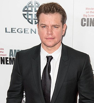 Matt Damon 'addicted' to reading political news