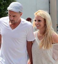 Britney Spears follows X Factor exit by making Trawick an ex-fiance