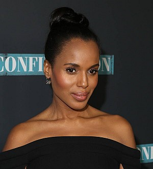 Kerry Washington wears Jessica Alba's maternity clothes