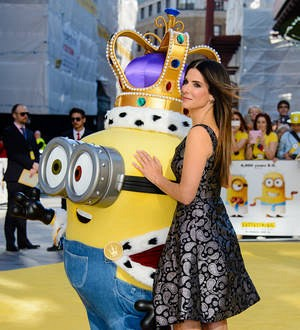 Sandra Bullock missed Minions world premiere because son was ill