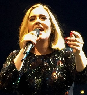 Adele's son Angelo watches her perform for the first time