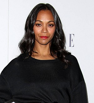 Zoe Saldana recalls twin emergency C-section drama