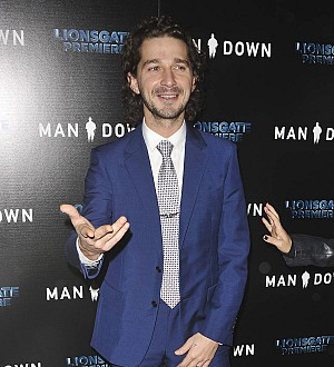Shia LaBeouf back to work following arrest