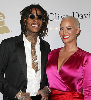 Wiz Khalifa and Amber Rose Play Dress Up For Son's Birthday