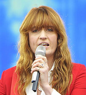 Florence Welch pays tribute to Dave Grohl at Glastonbury festival