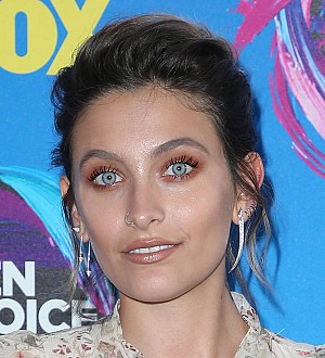 Paris Jackson urges anti-fascist activists to protest peacefully