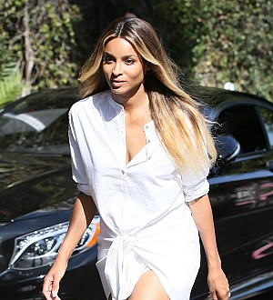 Ciara sparks pregnancy speculation