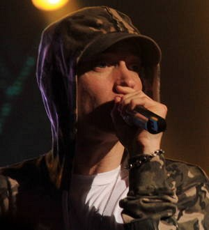Eminem interviewed by Stephen Colbert on Michigan TV show