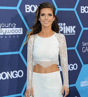 Audrina Patridge is a first-time mother