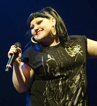 Beth Ditto fined for disorderly conduct