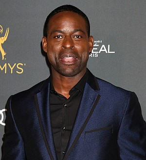 Sterling K. Brown had to deliver his first son