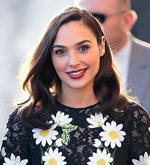 Gal Gadot's secret superhero selfie