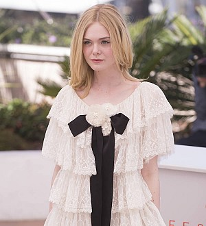 Elle Fanning stages prom at Cannes Film Festival