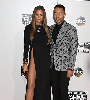 John Legend listens to Chrissy Teigen's lyric suggestions