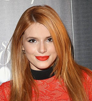 Bella Thorne stranded at airport after plane hits wall