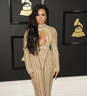 Demi Lovato was nervous about see-through Grammys dress
