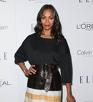 Zoe Saldana was hired to look good 'holding a gun in underwear'