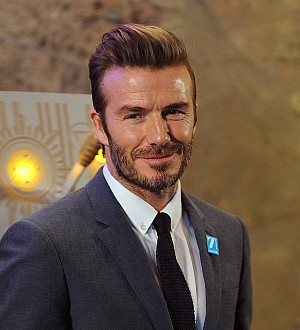David Beckham helps elderly woman after collapse
