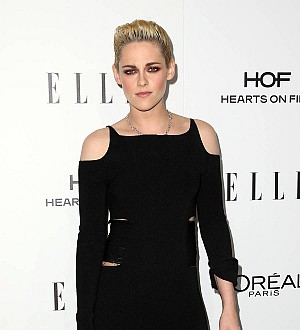 Kristen Stewart has Twilight reunion at Women in Hollywood Awards
