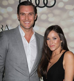 Actor Owain Yeoman is a first-time father