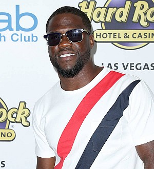 Kevin Hart laughs off cheating rumors