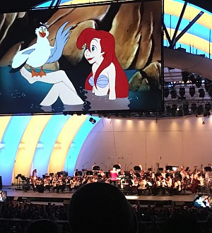 Going Under the Sea with Rebel Wilson & More in 'Little Mermaid' Live at the Hollywood Bowl!